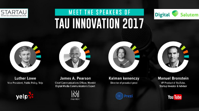 TAU Innovation 17 – The Conference For Innovative Start-Ups