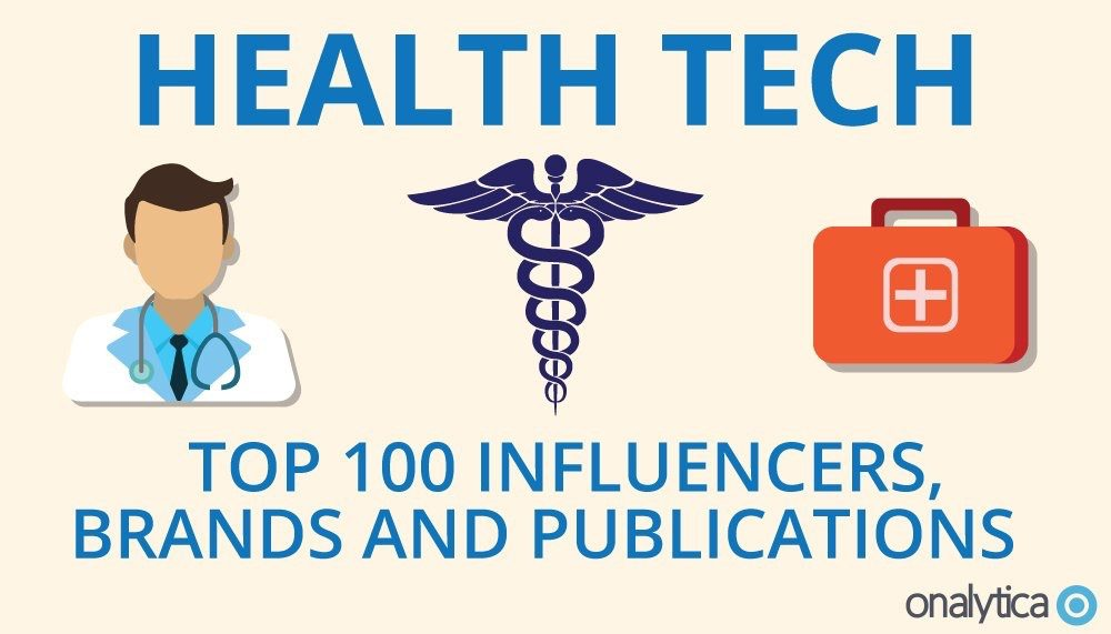 Digital Salutem in The Top 100 Influencers, Brands and Publications – HEALTH TECH